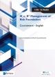 M o R Management of Risk Foundation Courseware English